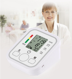 Máy đo huyết áp điện tử bắp tay, kết quả đo chính xác cao, thuận tiện, dễ sử dụng, người bạn tin cậy chăm sóc sức khỏe của bạn thumbnail