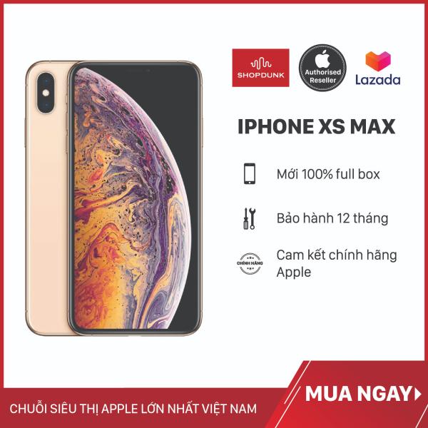 Điện thoại Apple iPhone Xs Max 1 Sim 64G, Hàng Nhập Khẩu, Chính Hãng, Chưa Kích Hoạt, Mới 100%, Bảo Hành 12 Tháng - Shopdunk