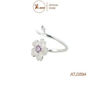 Nhẫn nữ Dễ Thương Quả Anh đào Bông Hoa ANTA Jewelry ATJ3594 thumbnail