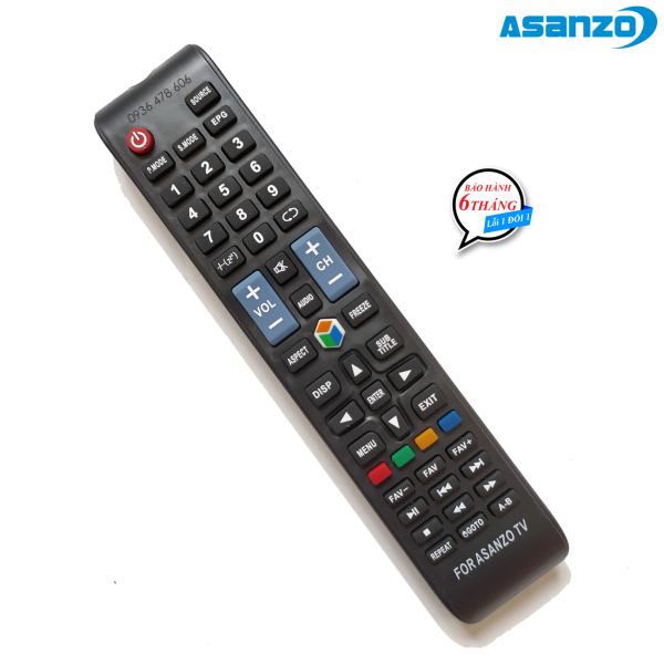 Bảng giá Remote điều khiển tv Asanzo Smart mẫu 4