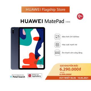 VOUCHER 50K   TRẢ GÓP 0%   Máy tính bảng HUAWEI MatePad 64GB   Màn hình 2K FullView   Hiệu suất mạnh mẽ   Âm thanh vòm sống động   6.6-10.6