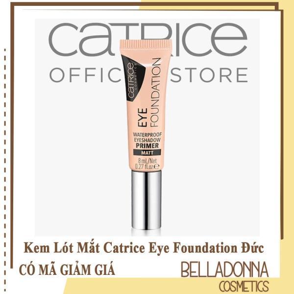 Kem Lót Mắt Catrice Eye Foundation Waterproof Eyeshadow Primer Matt 8ml #010 As Strong As You Are giá rẻ