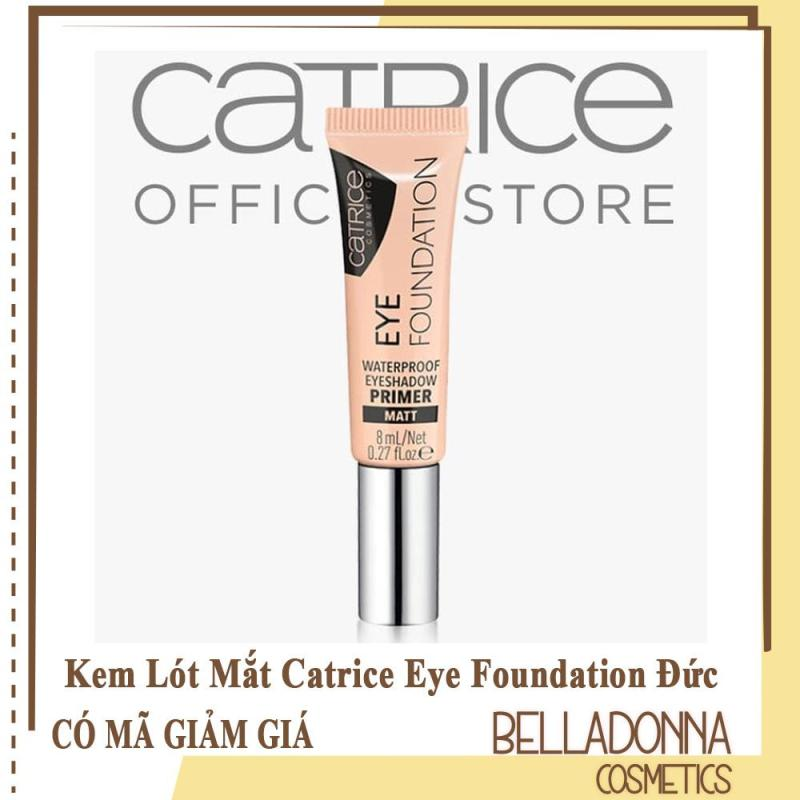 Kem Lót Mắt Catrice Eye Foundation Waterproof Eyeshadow Primer Matt 8ml #010 As Strong As You Are giá rẻ