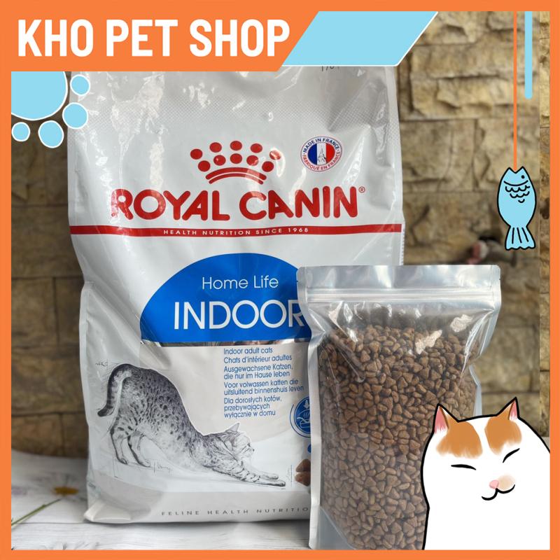 (Túi 1kg)Thức ăn mèo Royal Canin Indoor 27