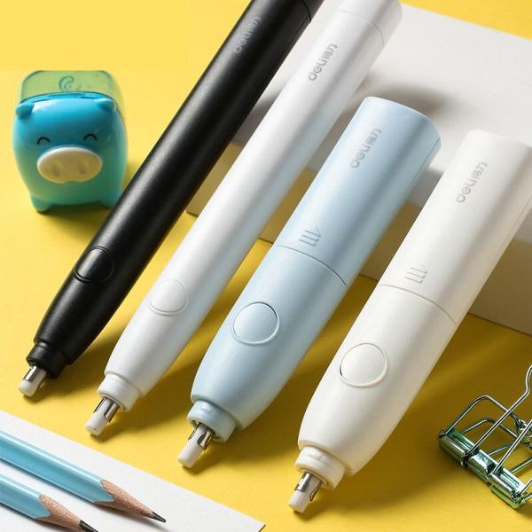 Gôm tẩy dạng bút bấm Đa năng (Tặng kèm pin) - Gấu Trúc Phụ kiện