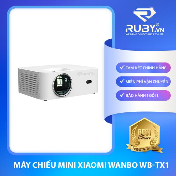 Bảng giá [CHÍNH HÃNG] Máy chiếu mini Xiaomi Wanbo WB-TX1 (Bản kết nối điện thoại, máy tính)