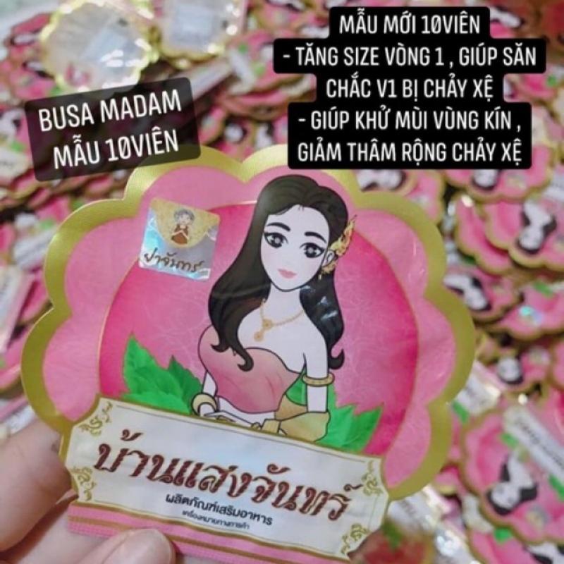 Nở ngực madam busaba ( mẫu mới) 10.viên