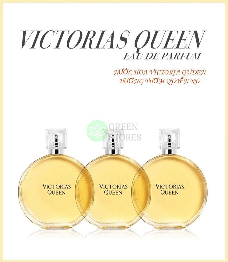 [Hot New!!] Nước hoa nữ Victoria Queen cao cấp Eau De Parfum, nước hoa Jasmine hương thơm bền bỉ quyến rũ 50ml-ITALA cao cấp