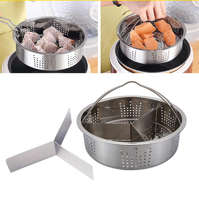 Benidiction Stainless Steel Convenient Accessories Food Steamer Steam Rack