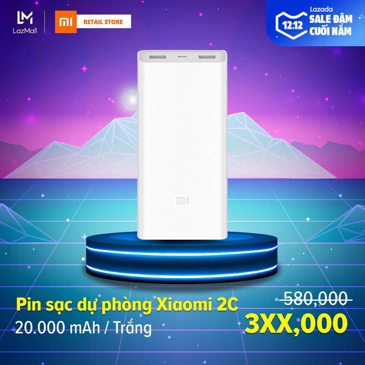 [HÀNG CHÍNH HÃNG] Pin sạc dự phòng Xiaomi Mi 2C...