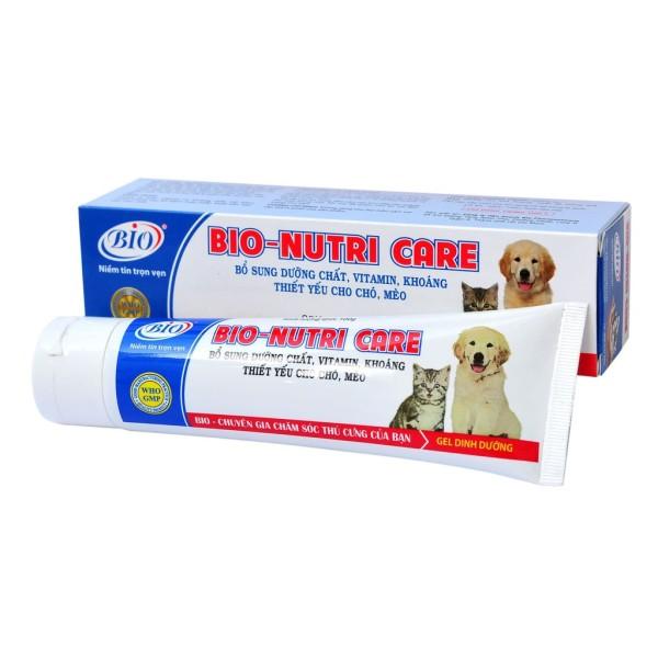 [HCM]Gel Dinh Dưỡng Cho Chó Mèo Bio Nutri Care