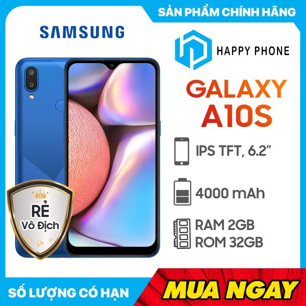 Điện thoại Samsung Galaxy A10s RAM 2GB ROM 32GB - Hàng chính hãng, mới 100%, Nguyên seal, Bảo hành 12 tháng
