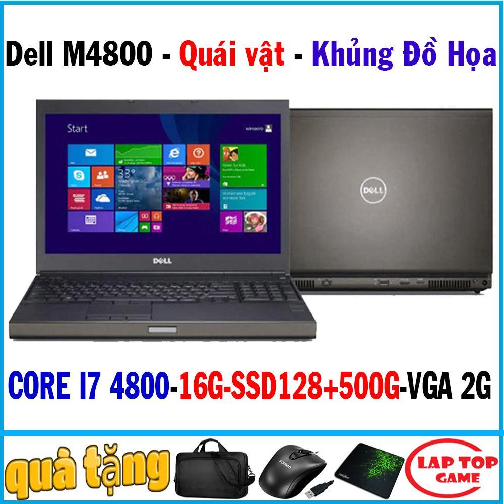Voucher Giảm Giá Dell Precision M4800 Chuyên đồ Họa Core I7-4800MQ/ Ram 16G/ Ssd 128+500G/ VGA Quadro K1100, Màn 15.6″ Full HD 1920*1080/ Dòng Máy Cao Cấp đồ Họa, Kỹ Sư, Thiết Kế