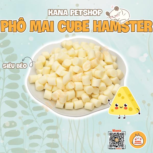 Phô Mai Cheese Hamster 🐹FREESHIP🐹 Phô Mai Dinh Dưỡng - Thức Ăn Thơm Ngon Cho Hamster