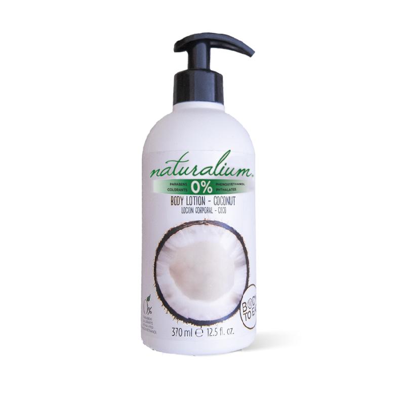 Sữa dưỡng thể - BodyLotion Dừa Naturalium 370ml