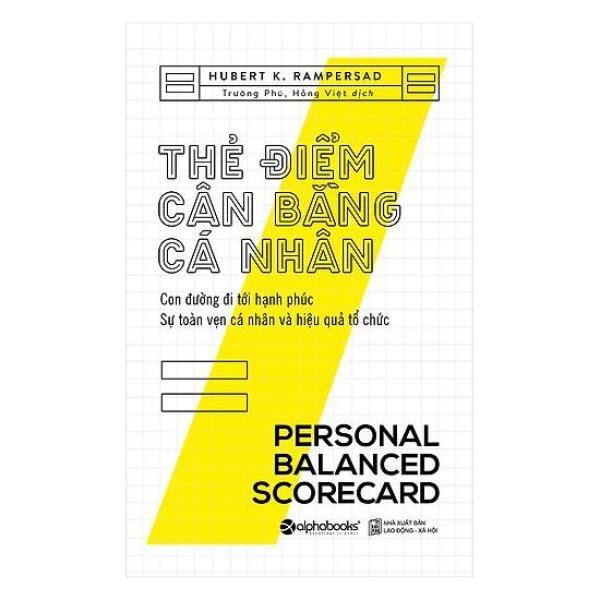 Sách - Thẻ điểm cân bằng cá nhân