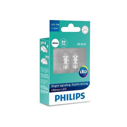 Mã Coupon Bảo Hành 5 Năm - 1 Cặp T10 Philips Ultinon