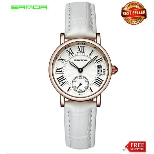 Nơi bán Đồng hồ Sanda nữ dây da tuyệt đẹp