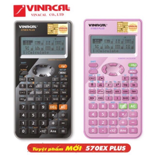Mua MÁY TÍNH VINACAL 570EX Plus CHÍNH HÃNG BẢO HÀNH 2 NĂM 570 esplus