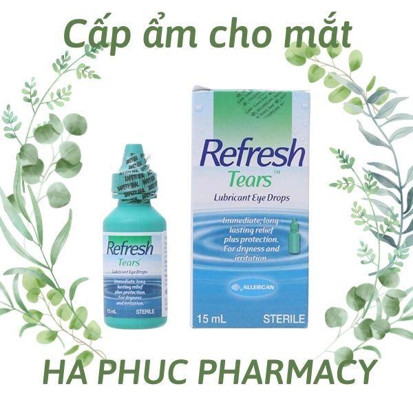 ✅Nước mắt nhân tạo Refresh Tears (15ml)✅Chính hãng