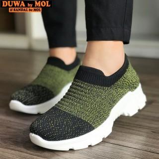 Giày slip on hiệu Duwa phong cách Hàn Quốc DHD02-2WY thumbnail