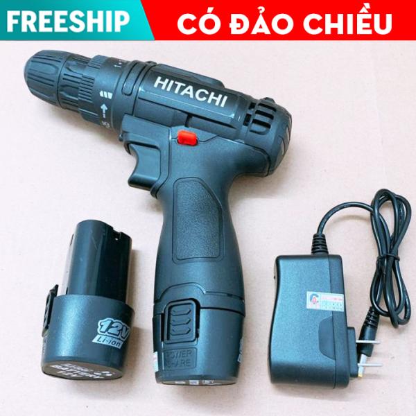 [ RẺ VÔ ĐỊCH ] Máy khoan bắt vít cầm tay Hitachi 12v - Máy khoan pin 12v giá rẻ - Máy khoan gỗ, máy khoan sắt, máy bắt vít có đèn Led - may khoan pin, máy khoan mini ( 2 phân loại lựa chọn trước khi thanh toán )