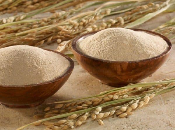 100g Bột Cám Gạo Nguyên Chất - Đắp mặt dưỡng da trắng hồng - Tặng que đắp siêu xinh