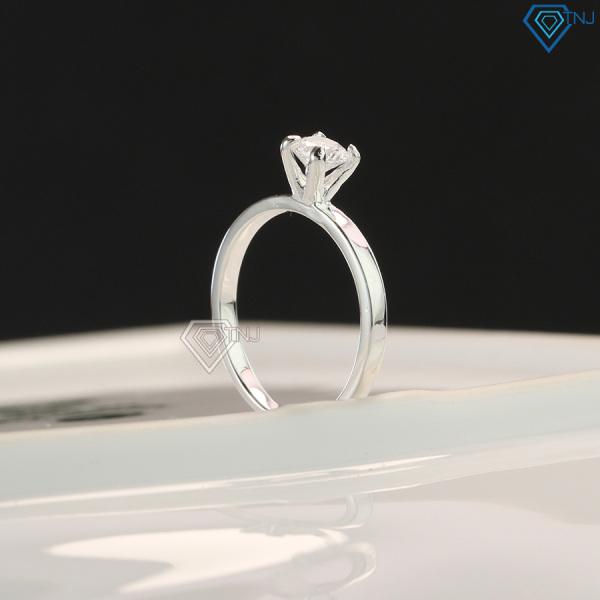 Nhẫn nữ bạc cá tính đính đá cao giá rẻ NN0178 - Trang Sức TNJ