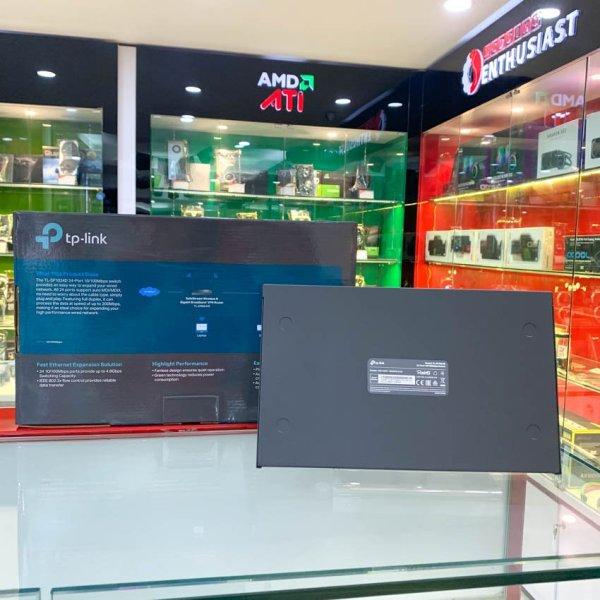 Bảng giá [HCM]Switch TP-Link TL-SF1024D (24Port 10/100Mbps - Vỏ kim loại) Phong Vũ