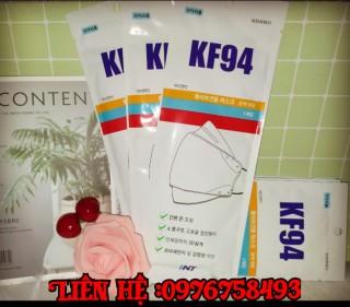 Khẩu trang kháng khuẩn Hàn Quốc KF94, size M ,1c 1 túi thumbnail