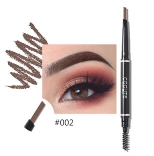 Cocute Double Heads Eyebrow Pencil Waterproof Professional Eye Brow Makeup Tools Long Lasting easy to carry thumbnail