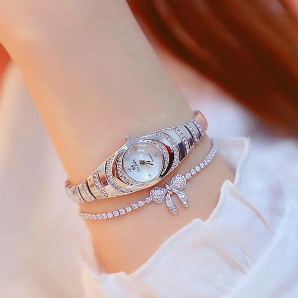 Đồng hồ nữ BS Bee Sister FA1540 đính đá thời trang
