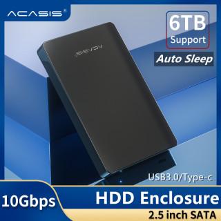 ACASIS Vỏ Ổ Cứng USB C Loại C, Ổ Đĩa Cứng Gắn Ngoài 2.5 Inch USB 3.1 Loại C Sang SATA Vỏ Bộ Chuyển Đổi Cho 2.5 Inch SATA I II III PS4 HDD SSD Lên Đến 10tb-quốc Tế thumbnail