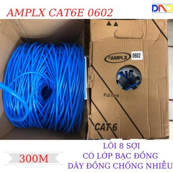 Bảng giá Thùng cáp mạng amp lx cat6 0602- 300m- chống nhiễu- hình thật- clip thật sản phẩm tốt chất lượng cao cam kết hàng giống mô tả Phong Vũ