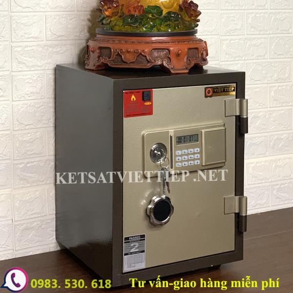 [CHINH HANG] Két sắt Việt Tiệp VD88E(khóa điện tử)-Két sắt phong thủy-55kg