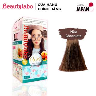 Thuốc nhuộm tóc tạo bọt Beautylabo 125ml Whip Hair Color Nhật Bản - Màu Nâu Socola thumbnail