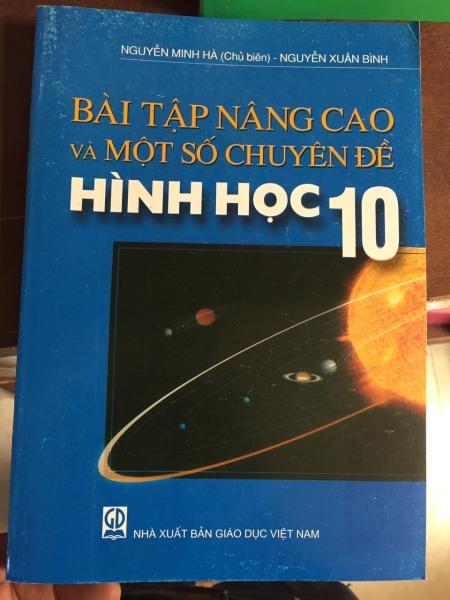 Mua Sách - Bài tập nâng cao và một số chuyên đề Hình học 10