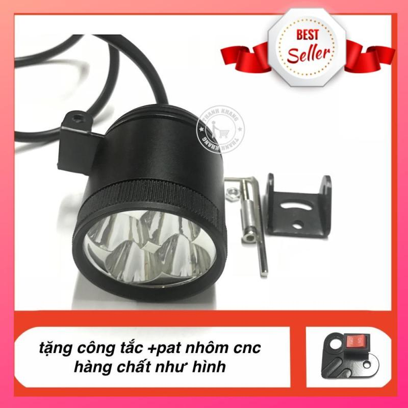 trợ sáng l4 30w ánh sáng thật + tặng công tắc và pat l4 cnc 002000014 + 006000250