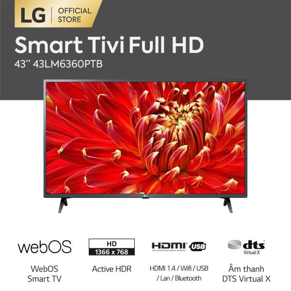 Bảng giá [FREESHIP 500K TOÀN QUỐC] Smart TV LG 43 inch Full HD 43LM6360PTB Model 2021 - Hãng phân phối chính thức