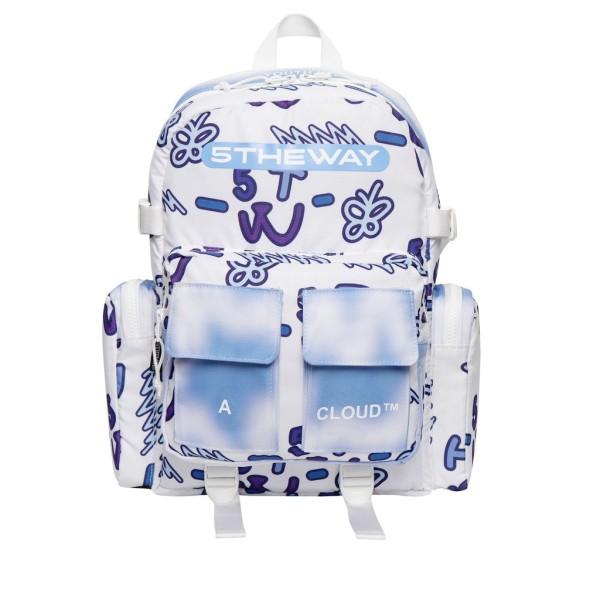 5THEWAY® /teddy bear/ ROCKET BACKPACK™ in BLUE aka Balo Xanh Dương