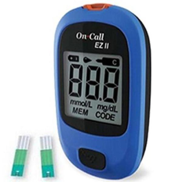 [SIÊU TIỆN ÍCH] Máy đo đường huyết On-Call EZ  – Máy đo tiểu đường lý tưởng cho người bệnh.Máy đo đường huyết tại nhà.Tiết kiệm chi phí,Tiết kiệm thời gian,là thiết bị thử máu lý tưởng cho Kết quả chính xác.BH 12T bán chạy