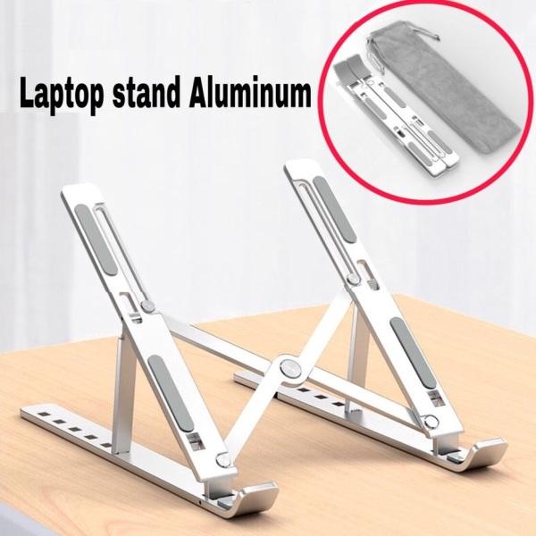 Bảng giá Giá Đỡ Laptop Stand Nhôm Hỗ Trợ Tản Nhiệt Có Thể Gấp Gọn Điều Chỉnh Độ Cao Để Máy Tính Xách Tay MacBook IPad 11-15 inch Phong Vũ