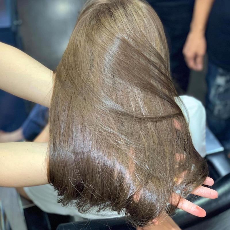 Thuốc nhuộm tóc Chiko màu nâu oliu (CK 6.39) + TẶNG kèm trợ nhuộm 100ml cao cấp