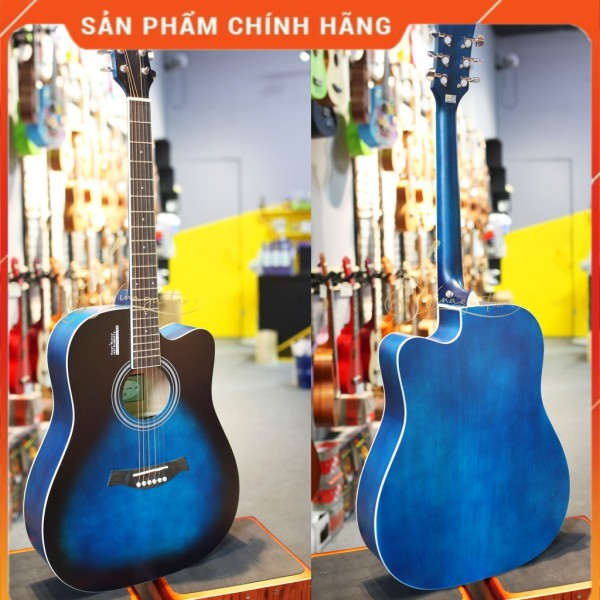 Đàn Guitar Acousitc Rosen R135 Gỗ Thịt Phiên Bản 2021/2020 - Tặng Full Phụ Kiện- Phân phối chính hãng bởi nhaccu3so