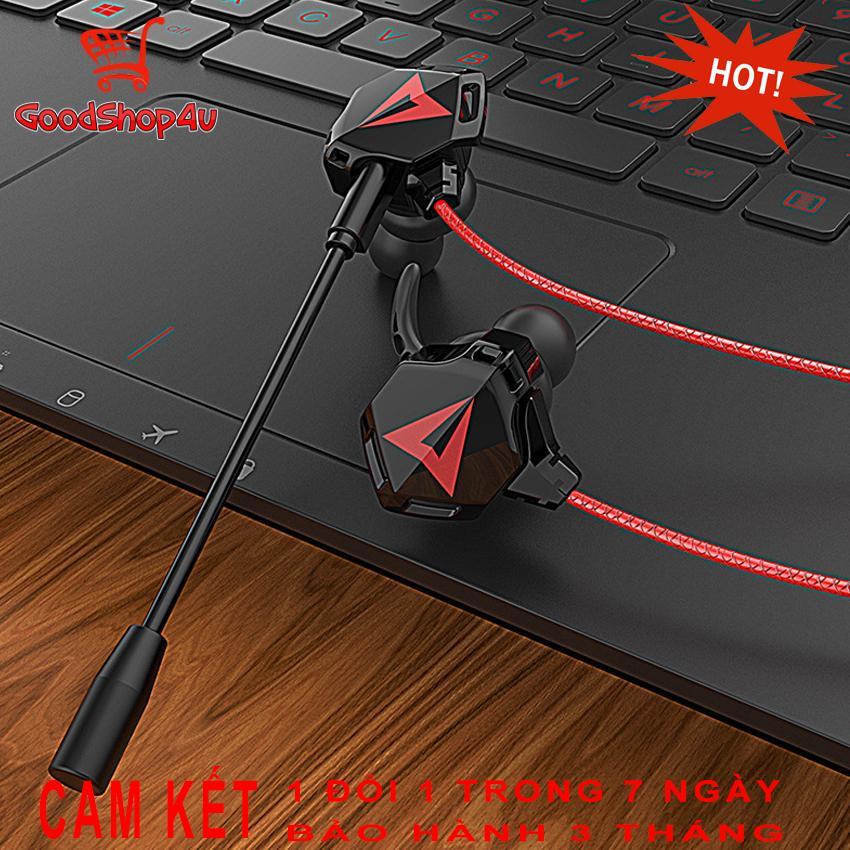 [ĐẲNG CẤP GAME PRO] Tai Nghe Gaming Có Mic G901 Jack 3.5mm; Tai Nghe Chơi Pubg, Game Mobile…; Tai Nghe Gaming PC, Tai Nghe Jack 3.5mm; Tai Nghe Nhét Tai Gaming; Tai Nghe Gaming Cho điện Thoại; Tai Nghe Máy Tính Laptop Có Mic [Goodshop4u] Đang Hạ Giá tại Lazada