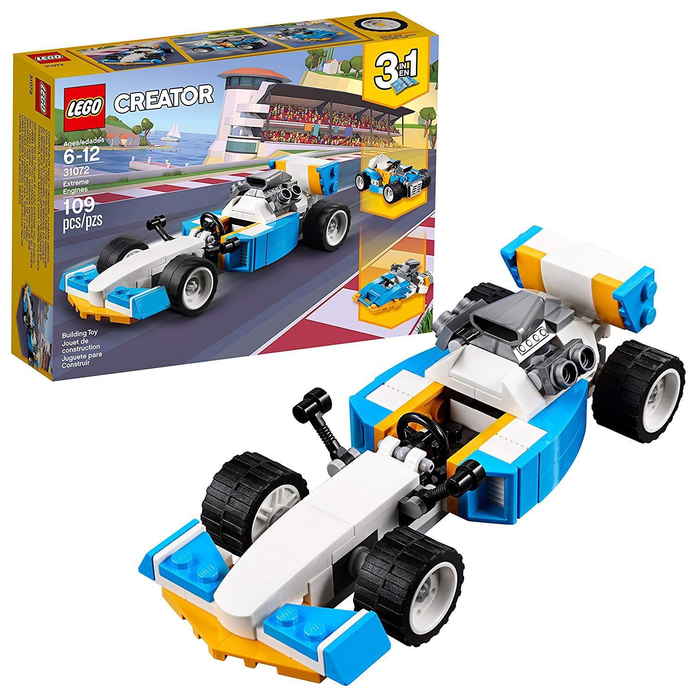 Mã Khuyến Mãi tại Lazada cho Xe Đua Công Thức 1 LEGO Creator 31072 (109 Chi Tiết)