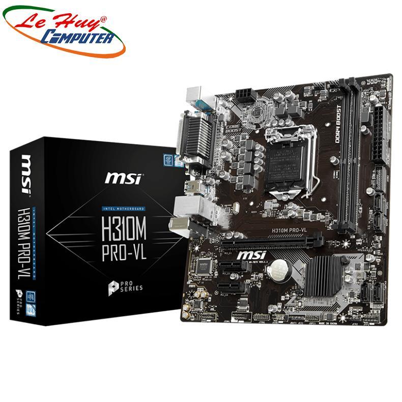 Bo Mạch Chủ - Mainboard MSI H310M PRO-VL Socket LGA1151 M-ATX