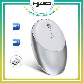 [Tặng lót chuột] Chuột Bluetooth HXSJ T36 Ba Chế Độ Bluetooth 3.0 + 5.0 + 2.4G Chuột Không Dây Thiết Kế Không Gây Ồn 1600 DPI Công nghệ Quang Pin Có Thể Sạc Lại dùng Cho PC, Máy Tính, macbook- Hàng chính hãng bảo hành 12 tháng thumbnail