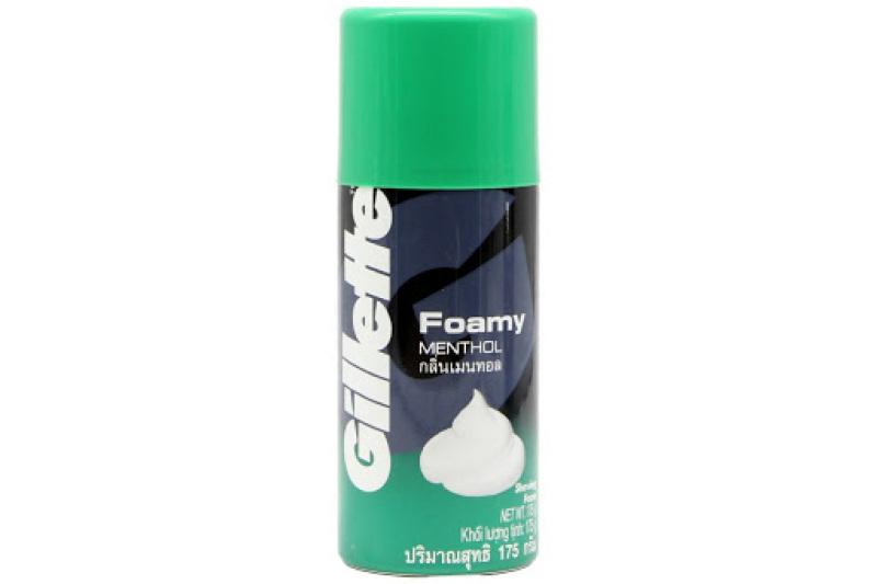 Bọt cạo râu Gillette Foamy Methol 175g giá rẻ