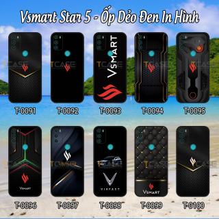 Ốp lưng Vsmart Star 5 - Ốp dẻo đen in hình Logo Vsmart thumbnail